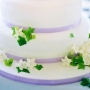 purple-ribbon-cake